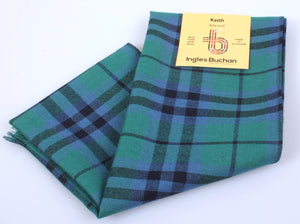 Wool Scarf in Keith Ancient Tartan