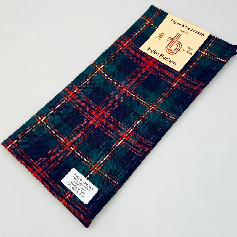 Pocket Square in MacLennan Modern Tartan.