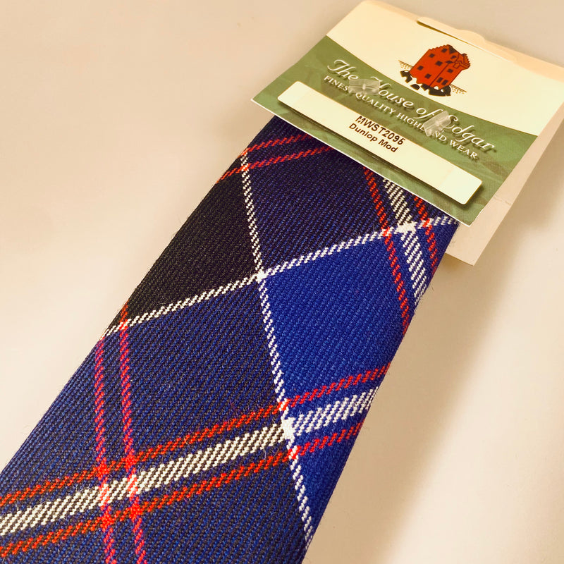Old and Rare Tie in Dunlop Modern Tartan