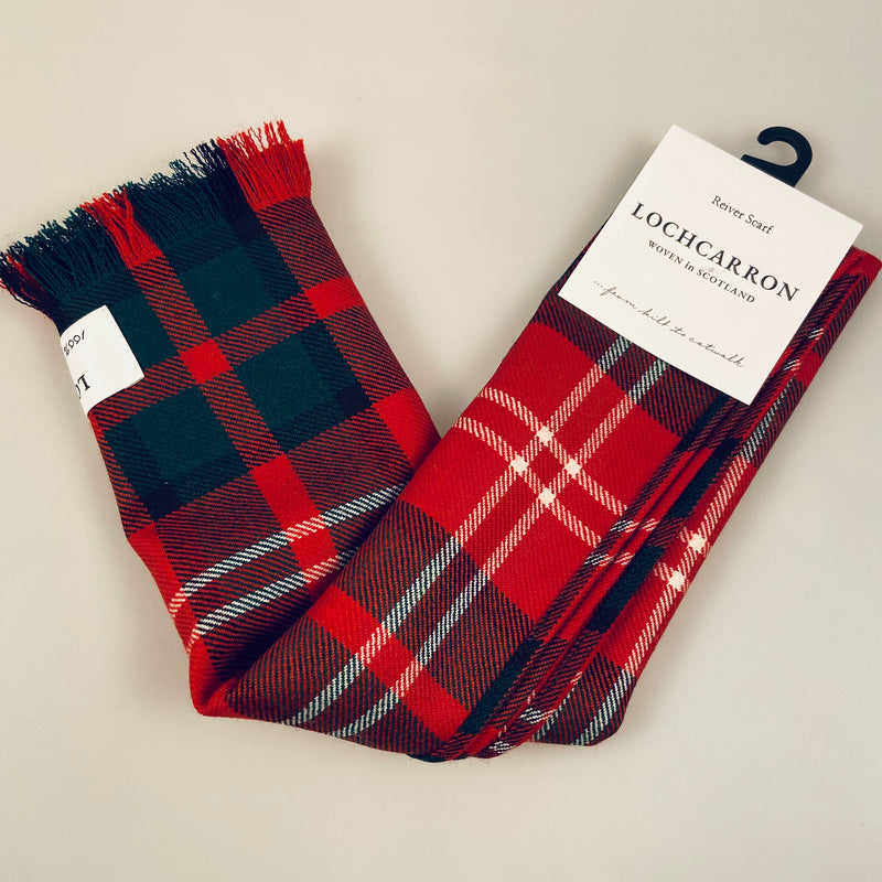 Luxury Lightweight Scarf in Nisbet Modern Tartan