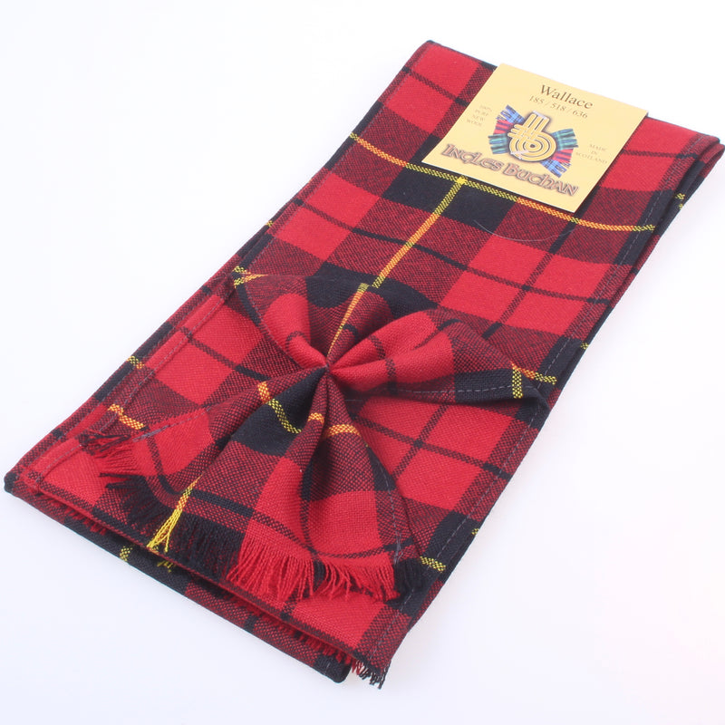 Wool Mini Sash in Wallace Modern Tartan
