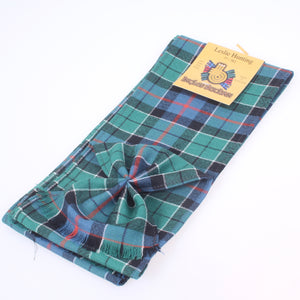 Wool Mini Sash in Leslie Hunting Ancient Tartan