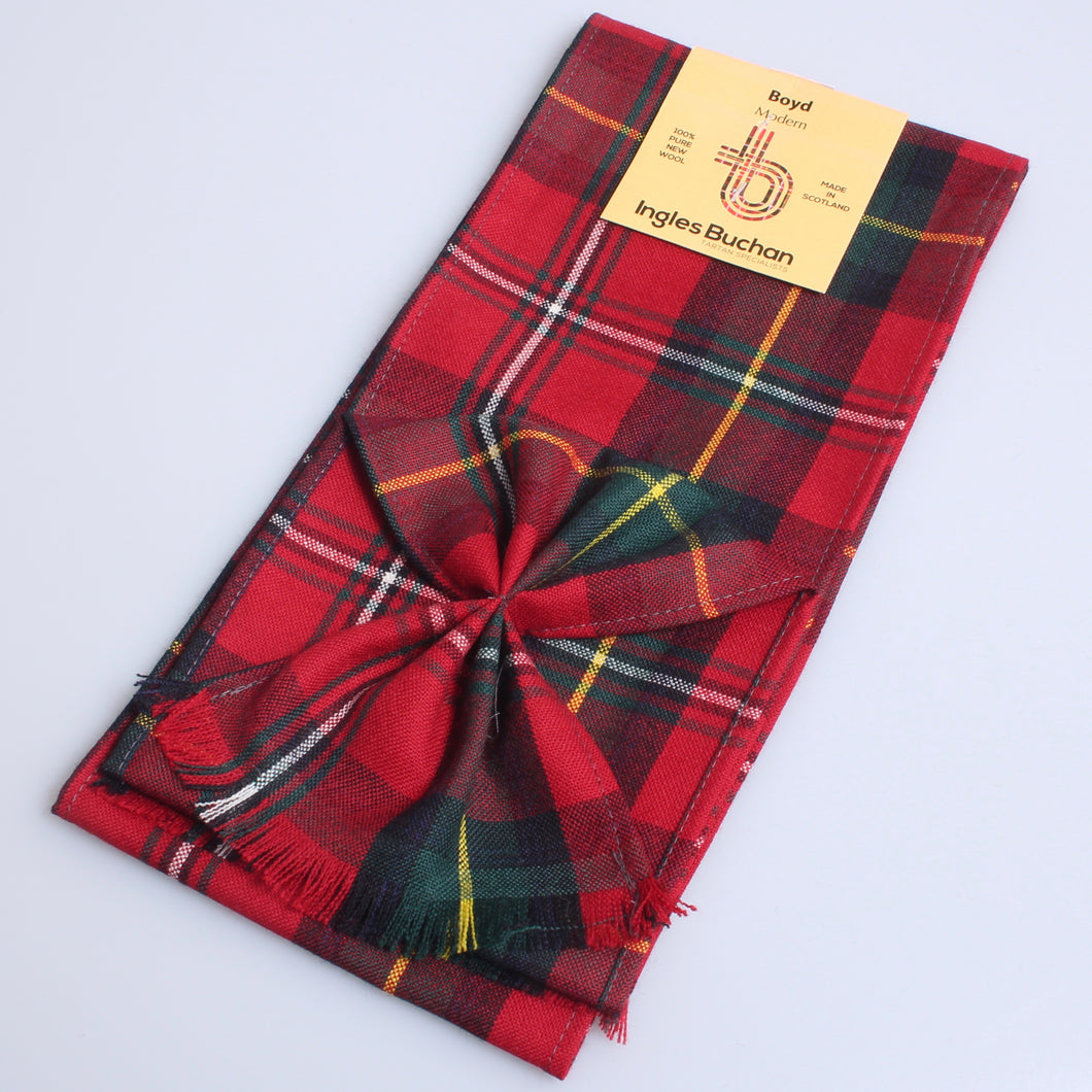 Wool Mini Sash in Boyd Modern Tartan