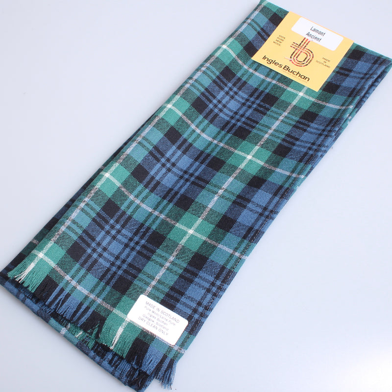 Wool Scarf in Lamont Ancient Tartan
