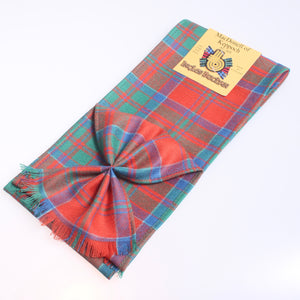 Wool Mini Sash in MacDonell of Keppoch Tartan