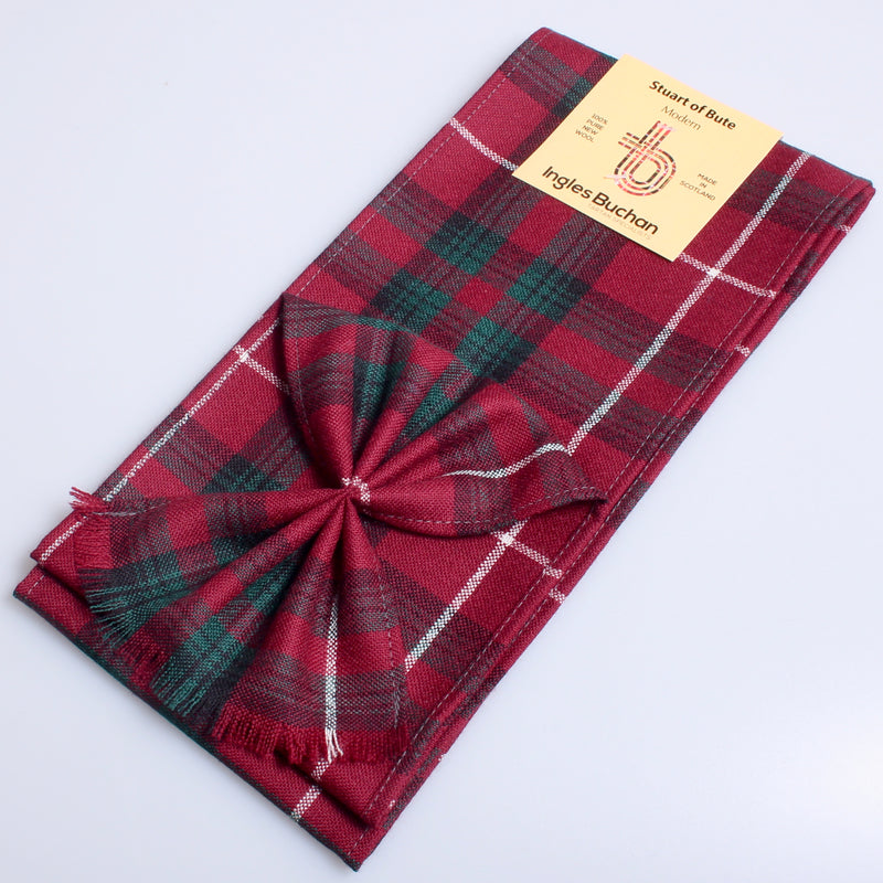 Wool Mini Sash in Stuart of Bute Modern Tartan