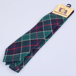 Pure Wool Tie in Leslie Hunting Modern Tartan
