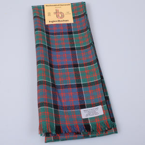 Wool Scarf in MacDonald of Clanranald Ancient Tartan