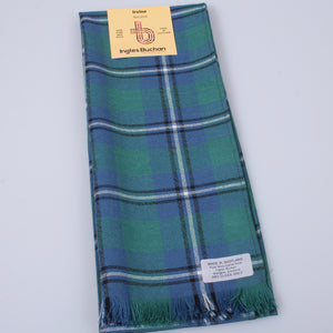 Wool Scarf in Irvine Ancient Tartan
