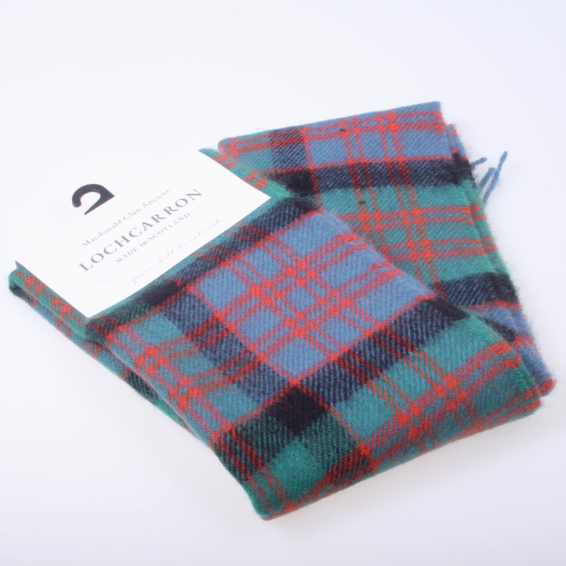 Lambswool Scarf in MacDonald Ancient Tartan