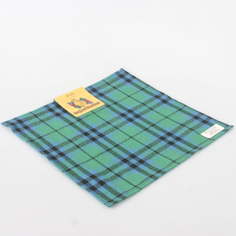 Pocket Square in Keith Ancient Tartan.