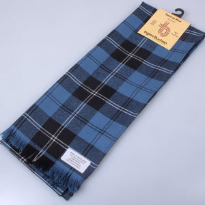 Wool Scarf in Ramsay Blue Ancient Tartan