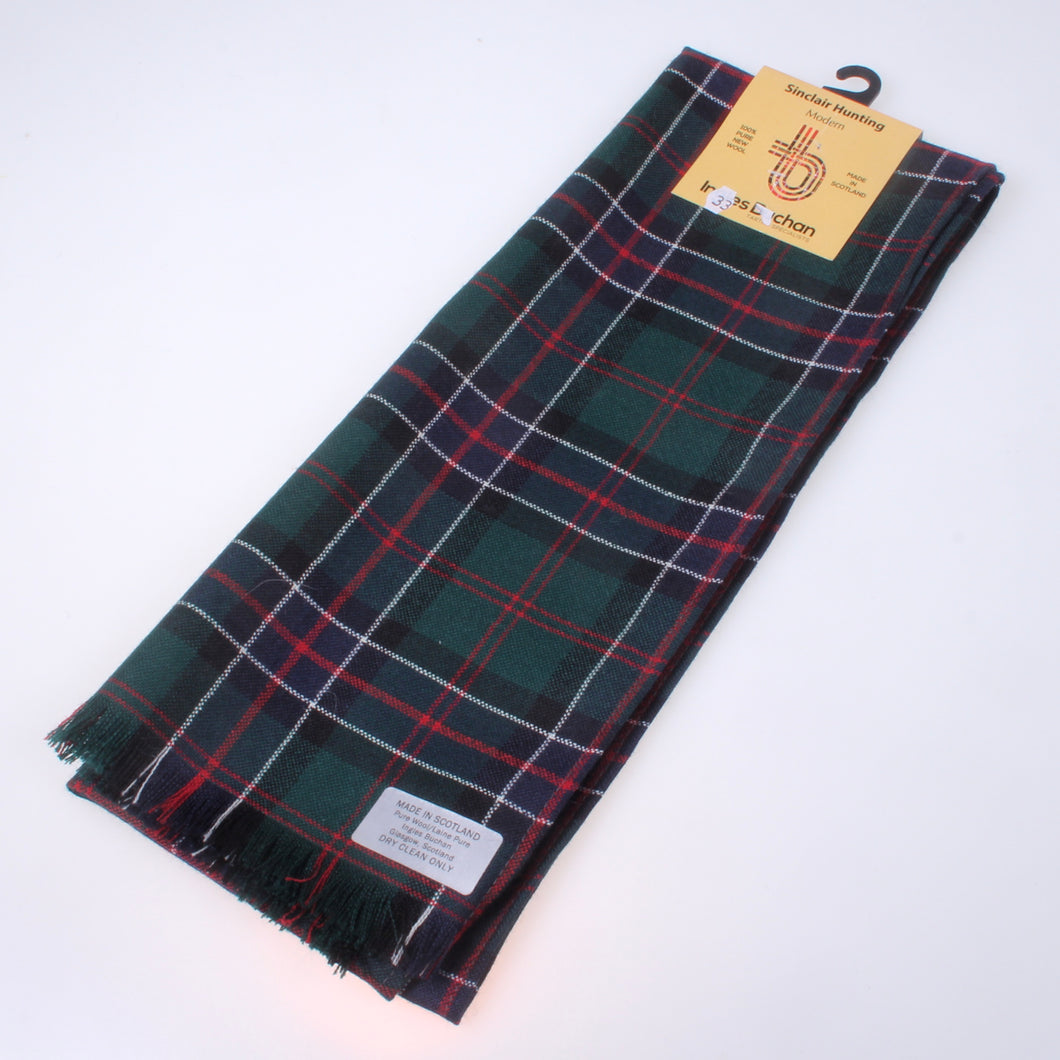 Scarf in Sinclair Hunting Modern Tartan