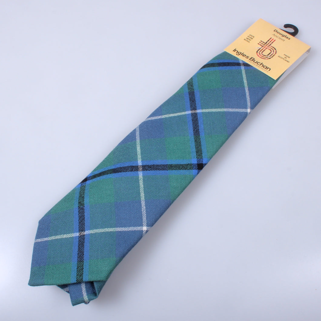Pure Wool Tie in Douglas Ancient Tartan