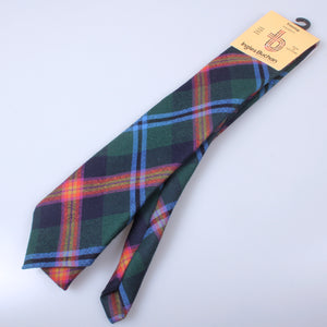 Pure Wool Tie in Young Modern Tartan