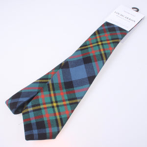 Luxury Pure Wool Tie in MacLellan Ancient Tartan