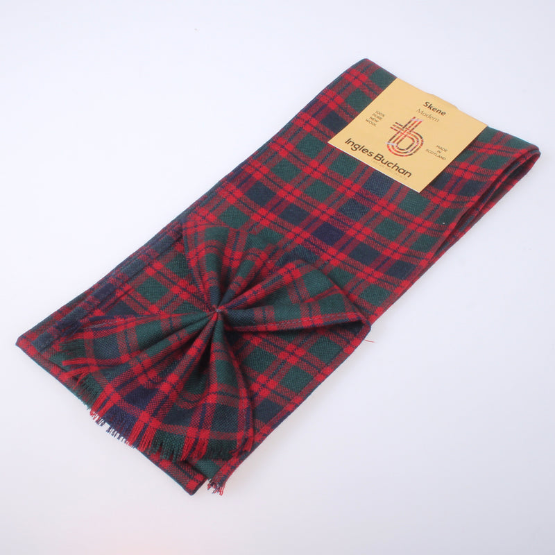 Wool Mini Sash in Skene Modern Tartan