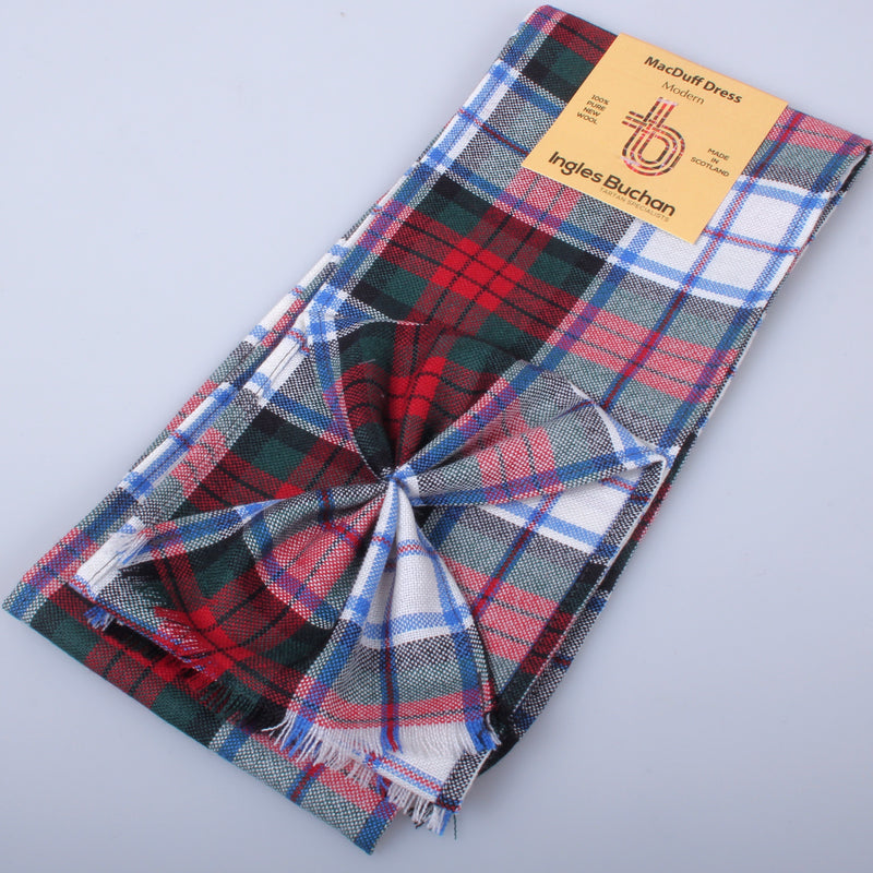 Wool Mini Sash in MacDuff Dress Modern Tartan