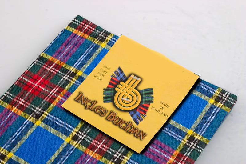 Wool Tartan Pocket Square in MacBeth Modern Tartan