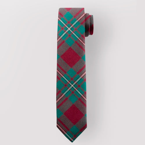 Pure Wool Tie in MacGregor Hunting Tartan