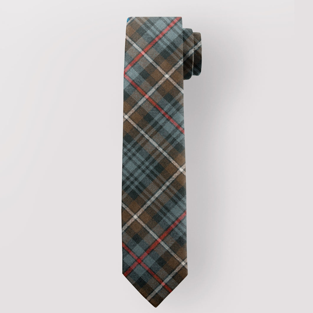 Pure Wool Tie in MacKenzie Weathered Tartan.