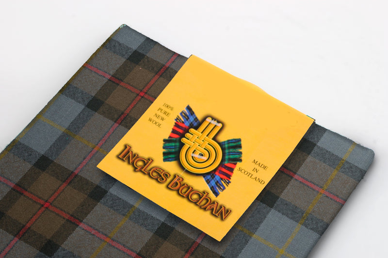 Pocket Square in MacLeod of Harris Weathered Tartan