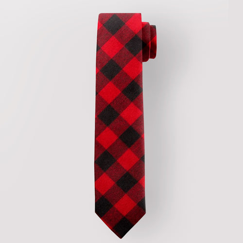 Pure Wool Tie in Rob Roy MacGregor Modern Tartan