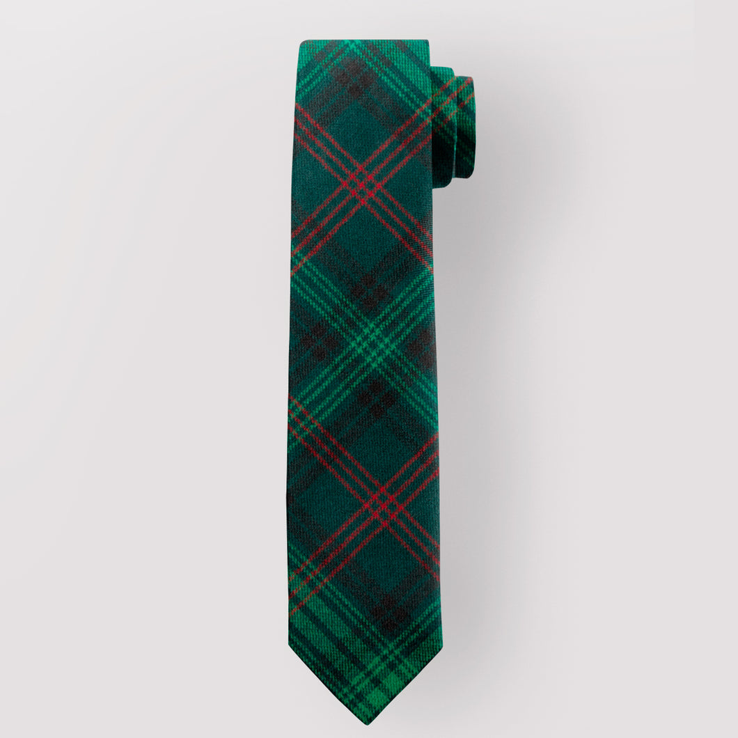 Pure Wool Tie in Ross Hunting Modern Tartan