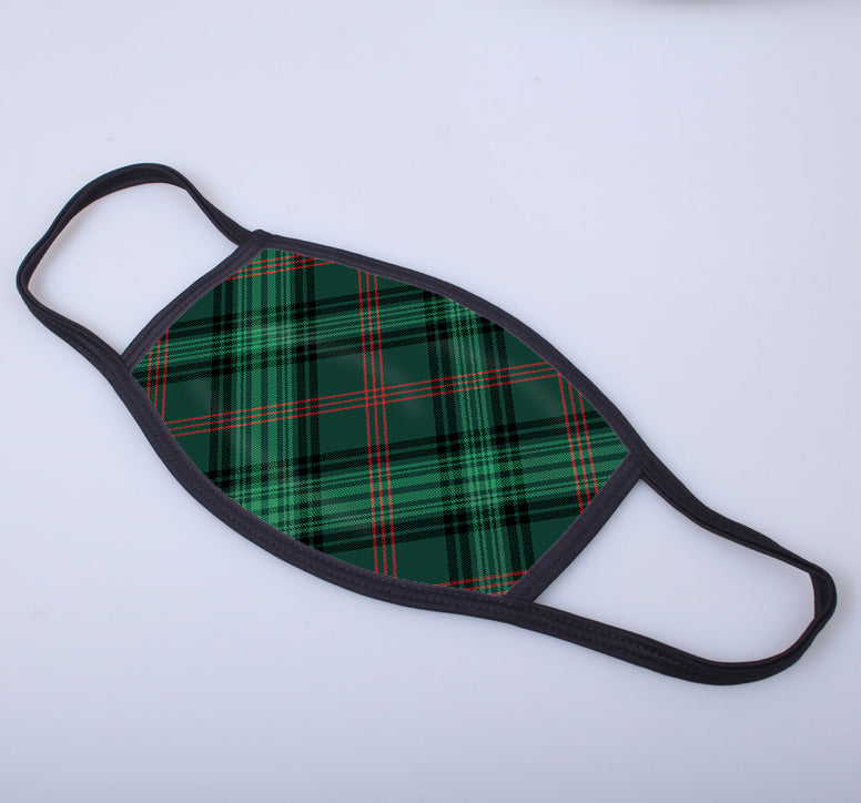 Ross Hunting Modern Tartan Printed Face Mask.