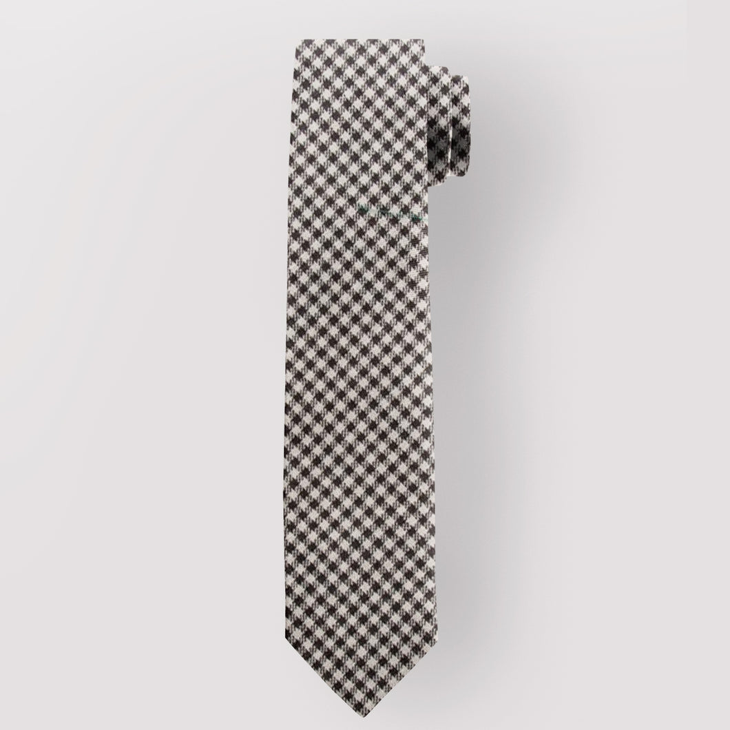 Pure Wool Tie in Shepherd Tartan.
