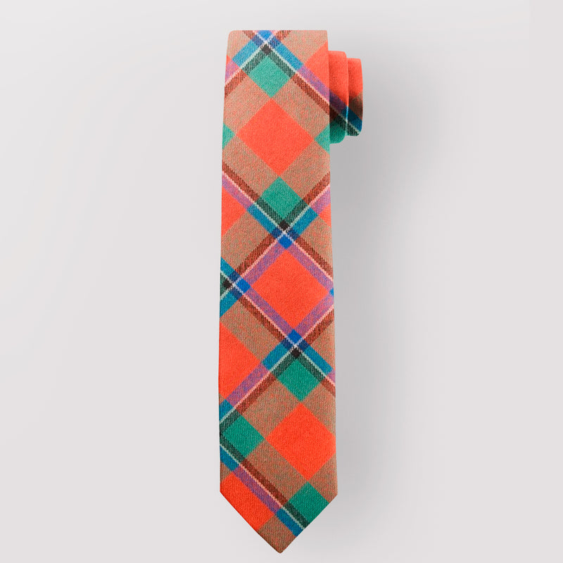Pure Wool Tie in Sinclair Ancient Tartan