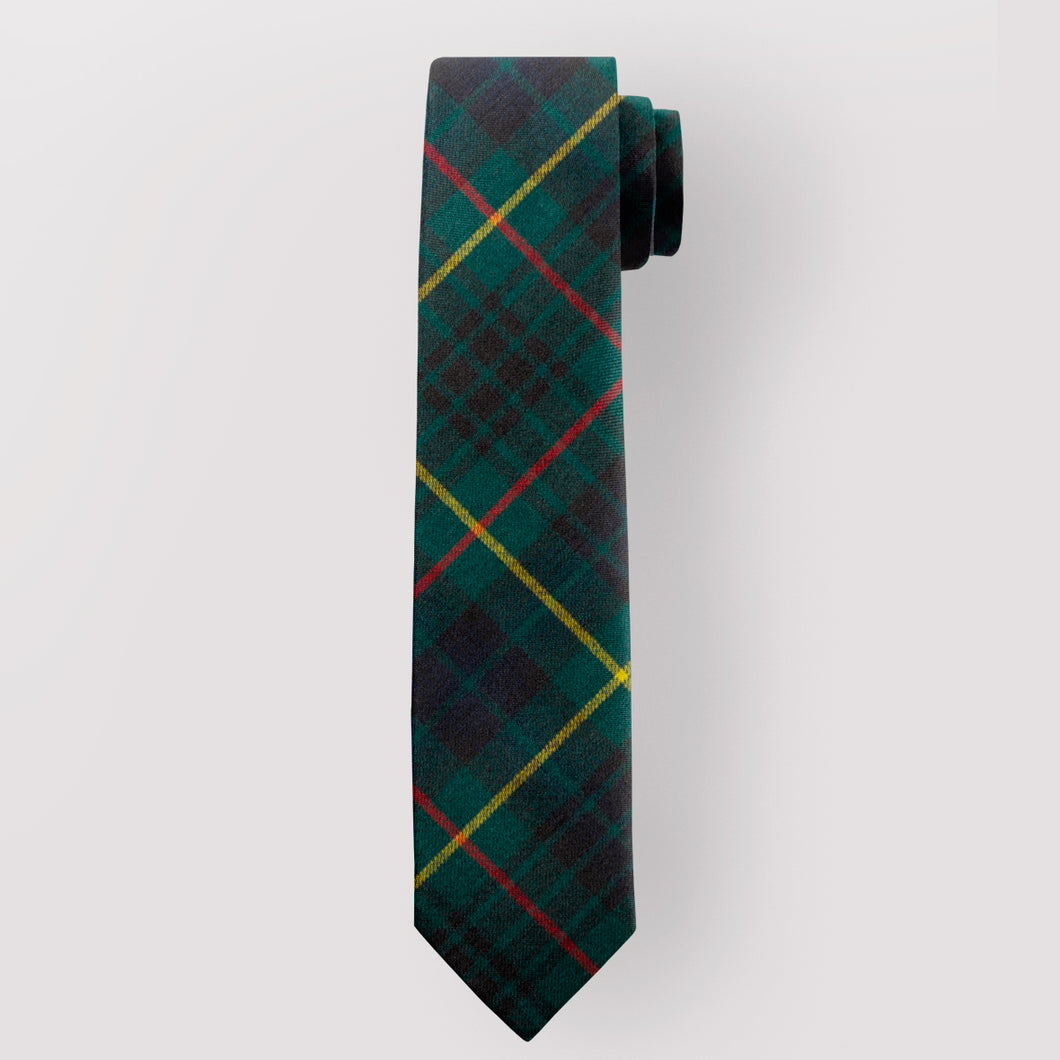 Pure Wool Tie in Stewart Hunting Modern Tartan