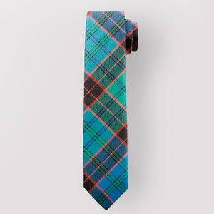 Pure Wool Tie in Stewart Old Ancient Tartan.