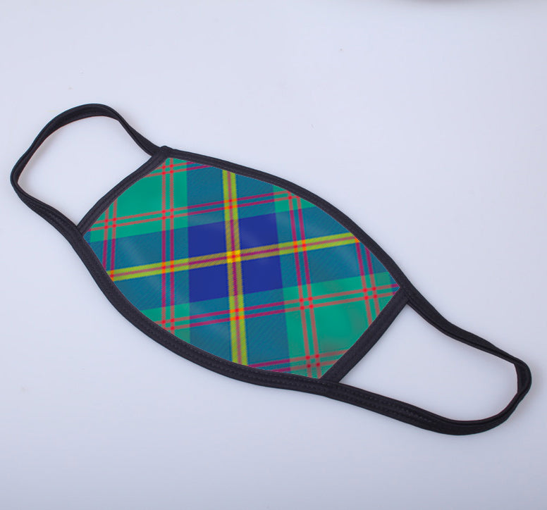 US Marine Tartan Printed Face Mask