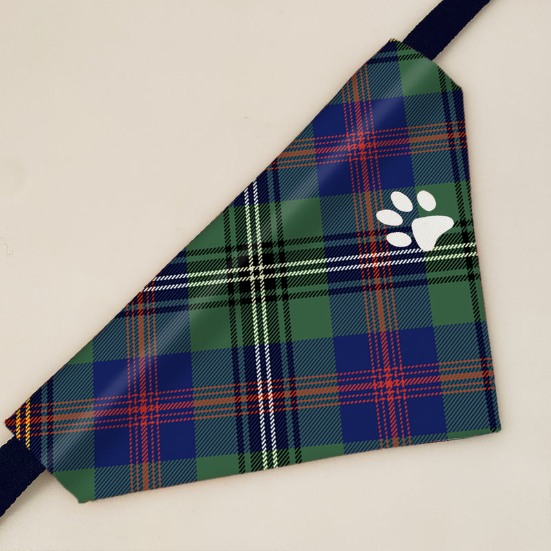 Wood Clan Tartan Pet Bandana