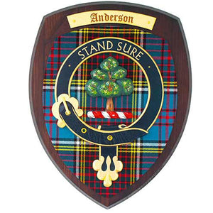 Anderson Extra Large Clan Crest Plaque