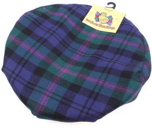 Pure Wool Golf Cap in Baird Modern Tartan