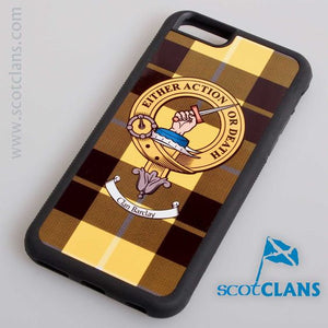 Barclay Tartan and Clan Crest iPhone Rubber Case - 4 - 7