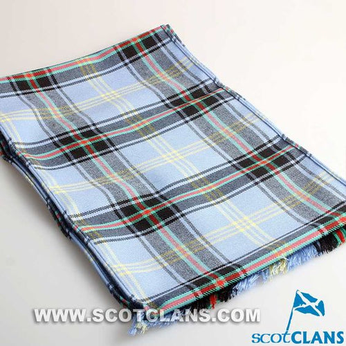 Luxury Lightweight Scarf in Bell of the Borders Tartan