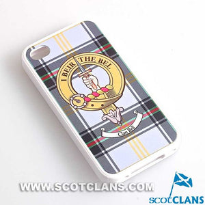 Bell Tartan and Clan Crest iPhone Rubber Case - 4 - 7