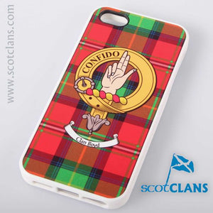 Boyd Tartan and Clan Crest iPhone Rubber Case - 4 - 7