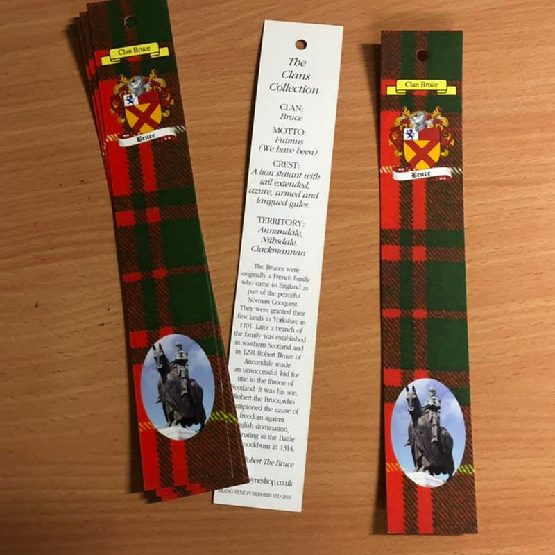 Bruce Clan Bookmarks 5 Pack