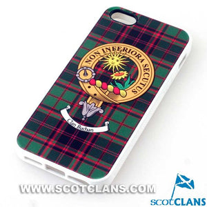 Buchan Tartan and Clan Crest iPhone Rubber Case - 4 - 7