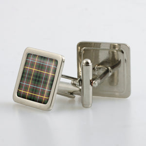 Buchanan Hunting Ancient Tartan Cufflinks - Choose Your Shape.