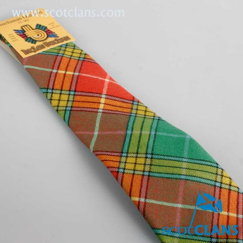 Pure Wool Tie in Buchanan Old Sett Tartan