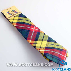 Pure Wool Tie in Buchanan Modern Tartan