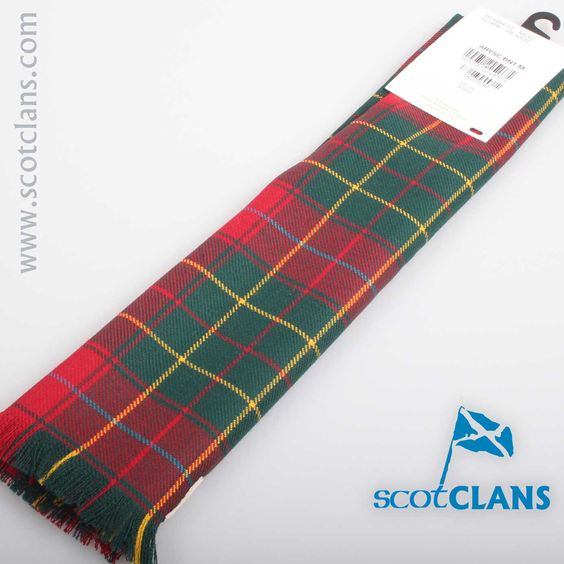 Luxury Lightweight Scarf in Burnett Modern Tartan