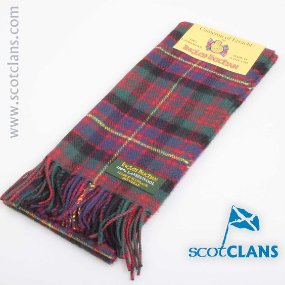 Lambswool Scarf in Cameron of Erracht Tartan