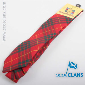 Pure Wool Tie in Cameron Clan Modern Tartan