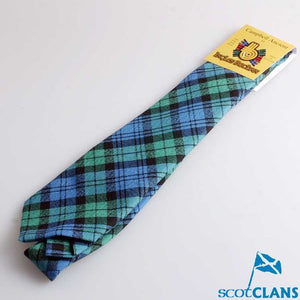 Pure Wool Tie in Campbell Ancient Tartan